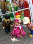 Nina in Legoland, summer 2011