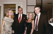 With Pierre Detry, Nestle Polska CEO, and his wife at the Christmas Dinner at Nestle Poland, Dec. 2012