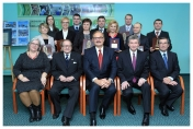 A summary of the year with the participation of Deputy Speaker of the Polish Parliament, Jerzy Wenderlich, December 2013