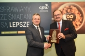With Mikolaj Bogdanowicz, the Kuyavian-Pomeranian Voivode at the review of 2017 in CPP, Dec. 2017