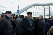 Official opening of the new bridge in Torun, December 2013