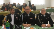 IV Summit of Volunteer Fire Department of Toruń - in the photo with a chaplain Piotr Siołkowski and Ryszard Korpalski, president of Volunteer Fire Department Lubicz, Szembekowo, October 2016