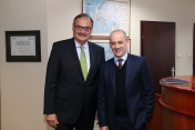 With the President of Nestle Polska SA – Mr Simon Smith, October 2014