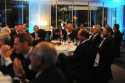 Dinner with Nestle SA Board of Directors, Warsaw, September 2009