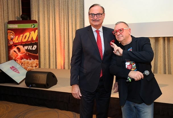 Jerzy Owsiak was a guest at the CPP commercial conference, 2019-01-03
