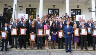 The Title of the Ambassador of Polish Economy for CPP 2013-09-23