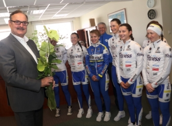 Name's Day Wishes From Cycling Team, 2016-04-23