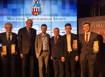 CPP - a patron of sport in Torun, 2016-11-23