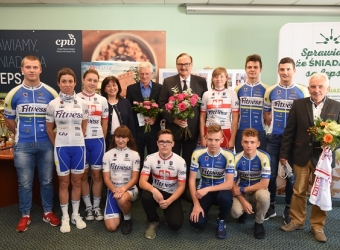Nestlé Fitness Cycling Team in the limelight, 2017-10-20
